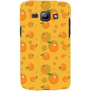 Oyehoye Fruity Pattern Style Printed Designer Back Cover For Samsung Galaxy J1 (2016 Edition) Mobile Phone - Matte Finish Hard Plastic Slim Case