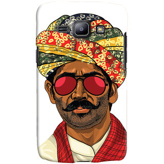 Oyehoye Desi Swag Quirky Printed Designer Back Cover For Samsung Galaxy J1 (2016 Edition) Mobile Phone - Matte Finish Hard Plastic Slim Case
