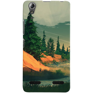 Oyehoye Nature Landscape Travellers Choice Printed Designer Back Cover For Lenovo A6000 Mobile Phone - Matte Finish Hard Plastic Slim Case