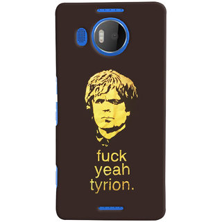 Oyehoye Tyron From Game Of Thrones Printed Designer Back Cover For Microsoft Lumia 950 XL Mobile Phone - Matte Finish Hard Plastic Slim Case