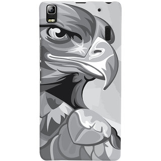 Oyehoye Animal Modern Art Printed Designer Back Cover For Lenovo A7000 Mobile Phone - Matte Finish Hard Plastic Slim Case