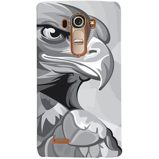 Oyehoye Animal Modern Art Printed Designer Back Cover For LG G4 H818N Mobile Phone - Matte Finish Hard Plastic Slim Case