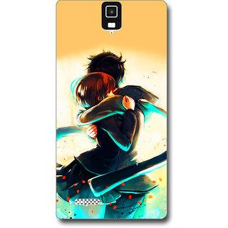 Cell First Designer Back Cover For InFocus M330-Multi Color sncf-3d-InFocusM330-516