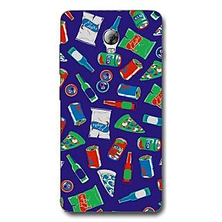 Cell First Designer Back Cover For Lenovo Vibe P1-Multi Color sncf-3d-LenevoVibeP1-405