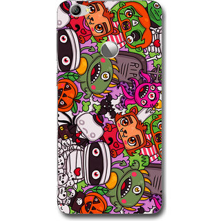 Cell First Designer Back Cover For LeTV Le 1S-Multi Color sncf-3d-LetvLe1s-117