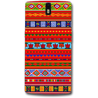 Cell First Designer Back Cover For OnePlus One-Multi Color sncf-3d-OnePlusOne-447