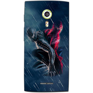 Cell First Designer Back Cover For Alcatel Onetouch Flash 2-Multi Color sncf-3d-AlcatelonetouchFlash2-385