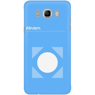 The Fappy Store Altruism Mobile Back Cover
