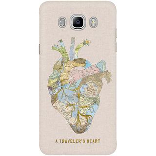 The Fappy Store A Travelers Heart Mobile Back Cover