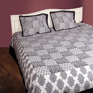 Cotton Bedsheet with 2 pillow cover