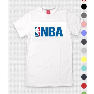 NBA Mens Round Neck White T-Shirt