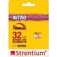 Strontium 32GB Class 10 MicroSDHC Memory Card