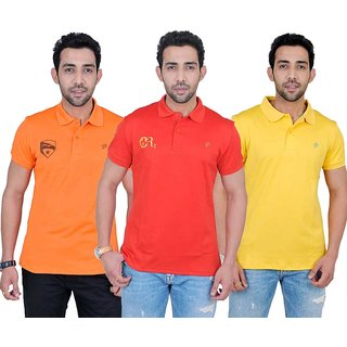 Fabnavitas Mens Casual Cotton T-shirt Pack of 3