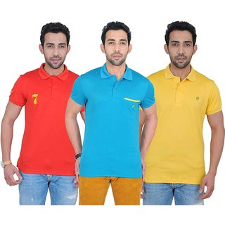 Fabnavitas Mens Polo T-shirt Pack of 3