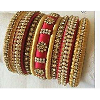 Silk Thread Bangles women