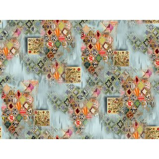 digital print pure georgette casual wear fabrics