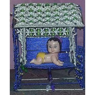 Handmade Designer Lord Krishna Jhula For Home Decorative