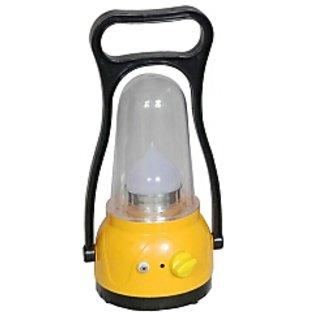 urjja 12 led rechargeable study lamp yellow