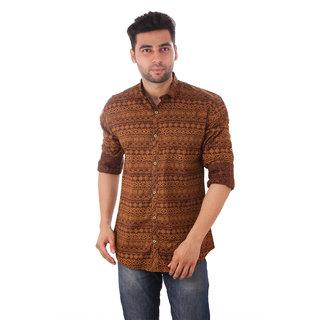 Studio Nexx Mens Printed Casual Shirt