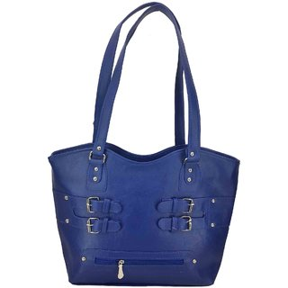 X-WELL Girls Party, Festive, Wedding Handbag Blue