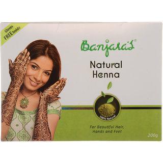 Banjaras Natural Henna 200G