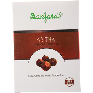 Banjaras Aritha Hair Pack Powder 100G (5 Sachets Inside)