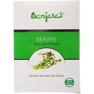 Banjaras Brahmi Hair Pack Powder 100G (5 Sachets Inside)