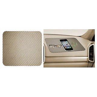 Car Dashboard Anti Slip Mat (Beige)