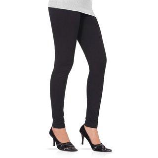 Womens Churidar Leggings In Black