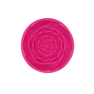 Rose shape silicon Cake Mould / Cup for half kg cake
