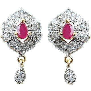 Waama Jewels Multi Cubic Zirconia Dangle  Drop Earring for girl Party Wear Earring festival jewellery