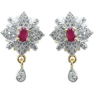 Waama Jewels Multi Cubic Zirconia Dangle  Drop Earring For Women Wedding Earring spiritual jewelry