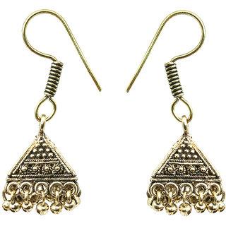 Waama Jewels gold NA Jhumki Earring For Women Daily Wear Earring Gift For Girlfriend