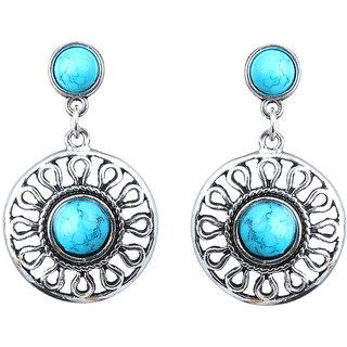 Waama Jewels Red Jasper Dangle  Drop Earring for Women Festive Earring Valentines Gift