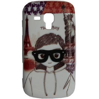 SCS Samsung S duos Designer back case(Boy)