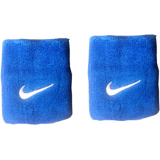 Set Of 2 Pc (1 Pair) Sports Wrist Band Supporter - Sweat Band