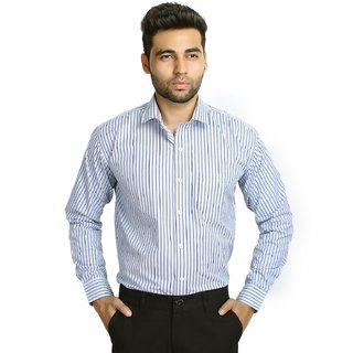 Studio Nexx Mens Formal Striped Shirt