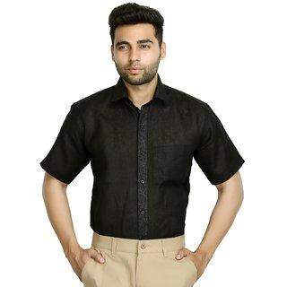 Studio Nexx Mens Formal Woven Micro Checkered Shirt