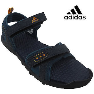 Adidas Men's Sandal L39470 - Drk Navy Col Red Steel
