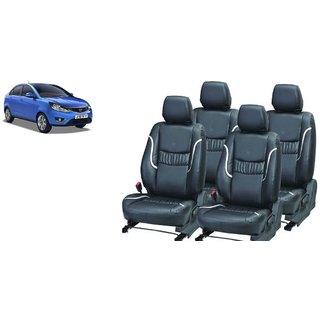 Tata Zest PU Leatherite Car Seat Cover PU0016 Available At