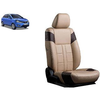 Tata Zest PU Leatherite Car Seat Cover PU0017 Available At