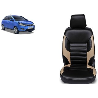 Tata Zest PU Leatherite Car Seat Cover PU0022 Available At