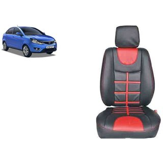 Tata Zest PU Leatherite Car Seat Cover PU0024 Available At