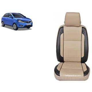 Tata Zest PU Leatherite Car Seat Cover PU0028 Available At