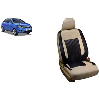 Tata Zest PU Leatherite Car Seat Cover PU0030 Available At