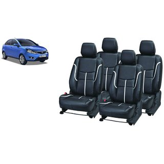 Tata Zest PU Leatherite Car Seat Cover PU0034 Available At