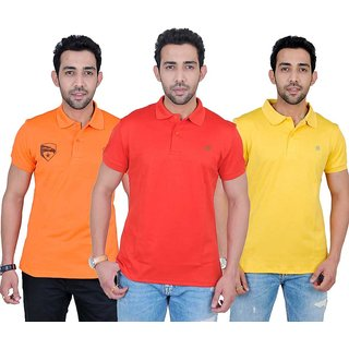 Fabnavitas Mens  T-shirt Pack of 3