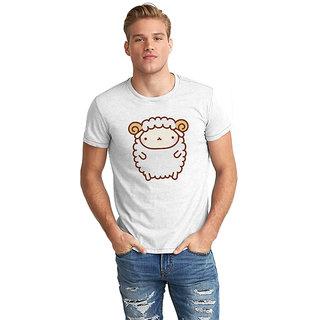 Dreambolic  Cute Sheep Half Sleeve T-Shirt