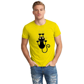 Dreambolic Black Cat Half Sleeve T-Shirt