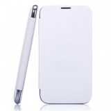 100 Original White Flip Case Cover For Micromax A116 Canvas Hd